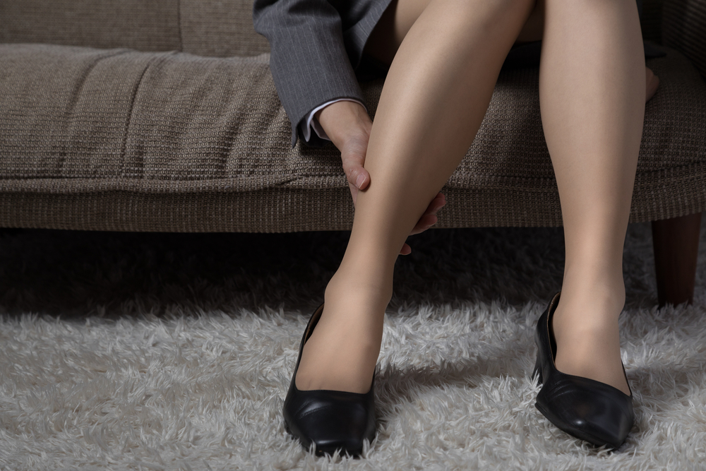 woman with lower extremity pain